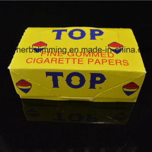 Top Fine Gummed Cigarette Rolling Papers 24 Booklets Paper pictures & photos