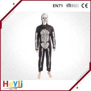 Halloween Party Adult Skull Skeleton Cosplay Costumes pictures & photos