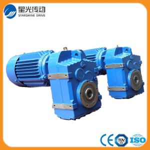 F Series Parallel Shaft Helical Gearbox Geared Motor Speed Reducer pictures & photos