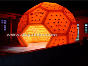 Attractive LED Lighting Inflatable Football Tent for Advertising for Party pictures & photos
