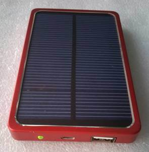Solar Charger Sp-4000 with 4000mAh Li-Pol Power Bank