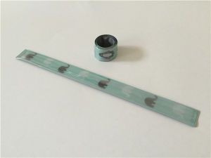 Reflective Wrist Band/Snap Band/ Slap Wrap/Breaclet China Supplies pictures & photos