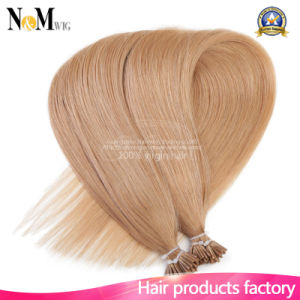 "20"" Brazilian Remy Human Hair I Tip Stick Tip Keratin Fusion Hair Extensions 1g/S 50g 100g Straight Hair 16 Colors Option pictures & photos"