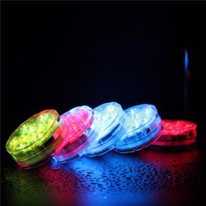 Colorful Remote Control Submersible Hookah Light Base pictures & photos