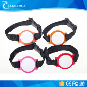 Woven RFID Wristband with Logo Printing pictures & photos