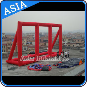 Red Color Outdoor Inflatable Hot-Selling Billboards Advertising Inflatable Billboard pictures & photos