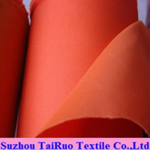 100% Polyester Oxford with PVC Coated for Garment Fabric pictures & photos