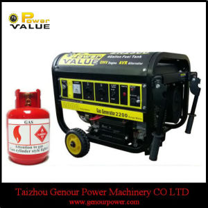 Family Hold China 6kw 6kVA LPG Power Generator pictures & photos