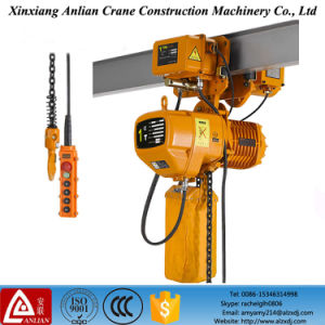 1 Ton Electric Hoist Cranes with Chain Trolley Hoist pictures & photos