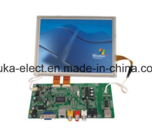 Resistive Touchscreen 4: 3 LCD Module with 8 Inch LED Display pictures & photos