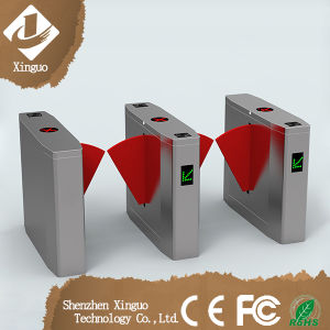 Subway Ss304 Biometric Access Controlproximity Readers Flap Barrier Turnstile pictures & photos