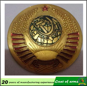 Gold Plated 3D Metal Emblem pictures & photos