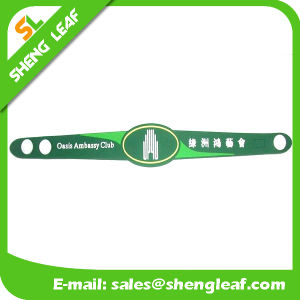 Custom Logo Promotion Gift Silicon / Rubber Bracelet pictures & photos