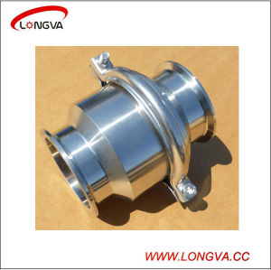 Food Grade Stainless Steel Tri Clamp Non Return Valve pictures & photos
