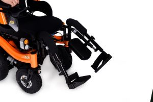 """Hot Selling with 16"""" Wheels Electric Power Wheelchair Epw65s pictures & photos"""