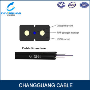 Indoor FTTH Optical Fiber Cable 2 Core Drop Cable Price
