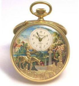 Faction OEM Design Music Pocket Watch pictures & photos