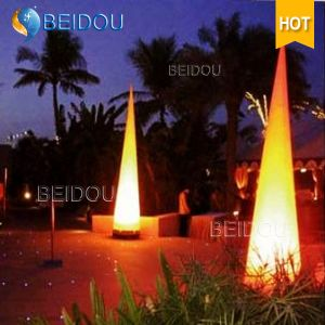 Decorative Arch Inflatable Pillars Ivory Tusks Tubes LED Lighted Cones pictures & photos
