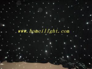 3m*4m LED Star Curtain Light for Wedding Project with Easy Installation, LED Sky-Like Backdrop with 17 Programs pictures & photos