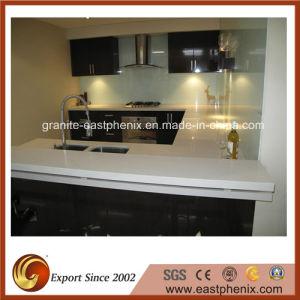 Artificial Quartz Stone Kitchen Countertop pictures & photos