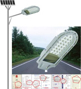 24W Solar Street Light, Home or Outdoor Using Solar Lamp, Outdoor Garden Light pictures & photos