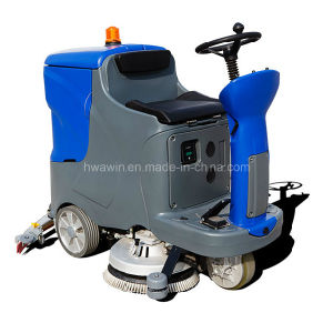 High Performace Ride on Floor Scrubber Machine (HW-X7) pictures & photos