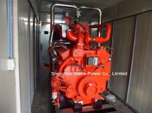 100kVA 80kw Cummins Natural Gas Generator Biogas Generator pictures & photos