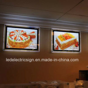 Single Sided Restaurant LED Menu Board Light Box for Fast Food pictures & photos