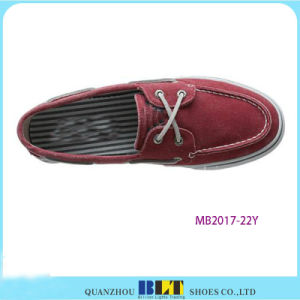 Red Leisure Boat Shoe for Men pictures & photos
