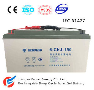 12V 150ah Solar Wind Energy Storage AGM Battery