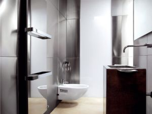 Electric Towel Radiator, Can Used as Ambient LED Lighting Panel
