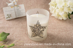 Home Decor Glass Jar Candle