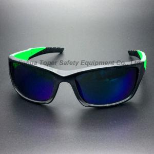 Wraparound Lens Sport Type PC Lens Safety Eyeglass (SG129) pictures & photos