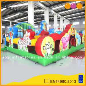 Giant Inflatable Zoo Jumping Bouncer (AQ02272) pictures & photos