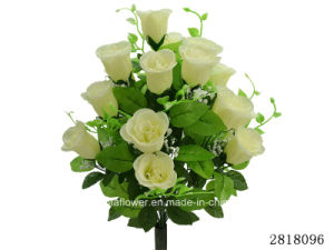 Artificial/Plastic/Silk Flower Rosebud Bush (2818096) pictures & photos