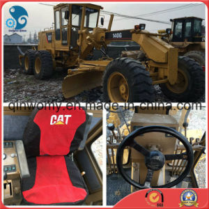 Container-Shipping Available-Engine/Gearbox 17ton 138kw-Original-Cat-C7-Engine Used Caterpillar 140g Motor Grader pictures & photos