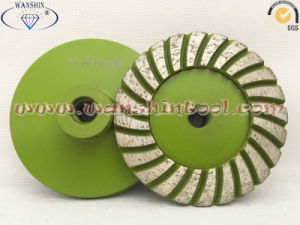 High Quality Diamond Cup Wheel for Granite Black Granite pictures & photos