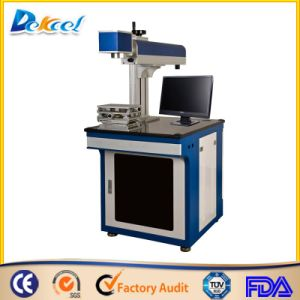 China Manufacture! CNC Marking Logo, Jewelry, Trademark Signs Fiber Laser Maring Machine 10W/20W/30W pictures & photos