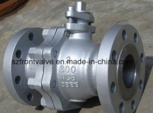 Stainless Steel 2PC Flanged Ball Valves pictures & photos