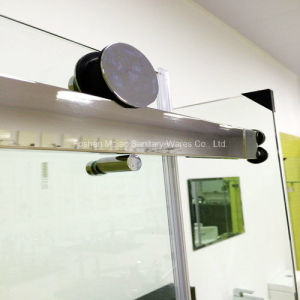 Australian Approval Tempered Glass Rectangle Frameless Shower Enclosure (H001E) pictures & photos