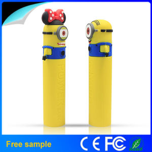 Portable Cartoon Minion 2600mAh Mobile Power Bank pictures & photos
