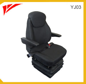 Fabric or PVC High Back Air Suspension Truck Driver Seat (YJ03) pictures & photos