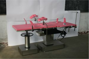 Multi-Purpose Parturition Bed, Hydraulic System Obstetric Table, Gynecology Table, CE ISO9001 Marked pictures & photos