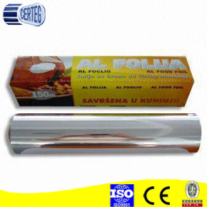 Kitchen Use Roll Stock Aluminum Household Foil pictures & photos