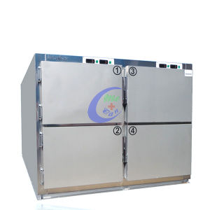 High Quality Stainless Steel Morgue Refrigerator pictures & photos