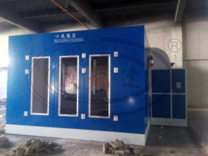 Custom Spray Paint Booth with Infrared Lamp Heating System Wld-6000 pictures & photos