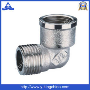 Chrome Plsting Brass Plumbing Tee Fitting (YD-6028) pictures & photos
