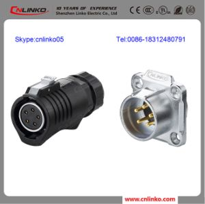 Very Popular Easy to Operate Waterproof Circle 5 Pole Connector pictures & photos