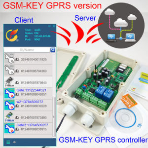 GPRS Version GSM Key GSM Gate Opener, Two Alarm Input, Two Relay Output pictures & photos