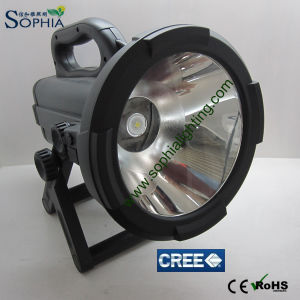 Rechargeable 30W 2400 Lumen High Power Rotatable CREE LED Flashlight pictures & photos